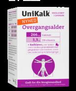 Unikalk overgangsalder - Unik kombination af kalk, D-vitamin, Biotin, B6-vitamin og rødkløver.
